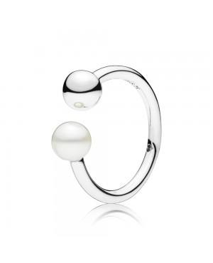 Anel Contemporary Pearl