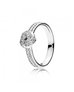 Anel Sparkling Love Knot