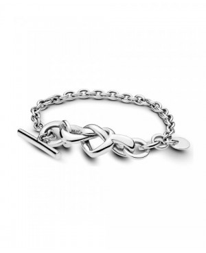 Pulseira Knotted Heart