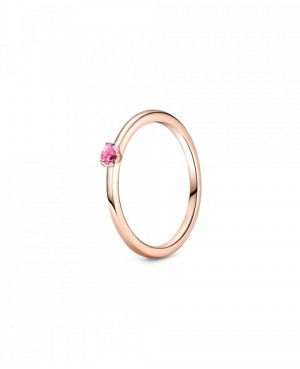 Anel Pink Solitaire,...