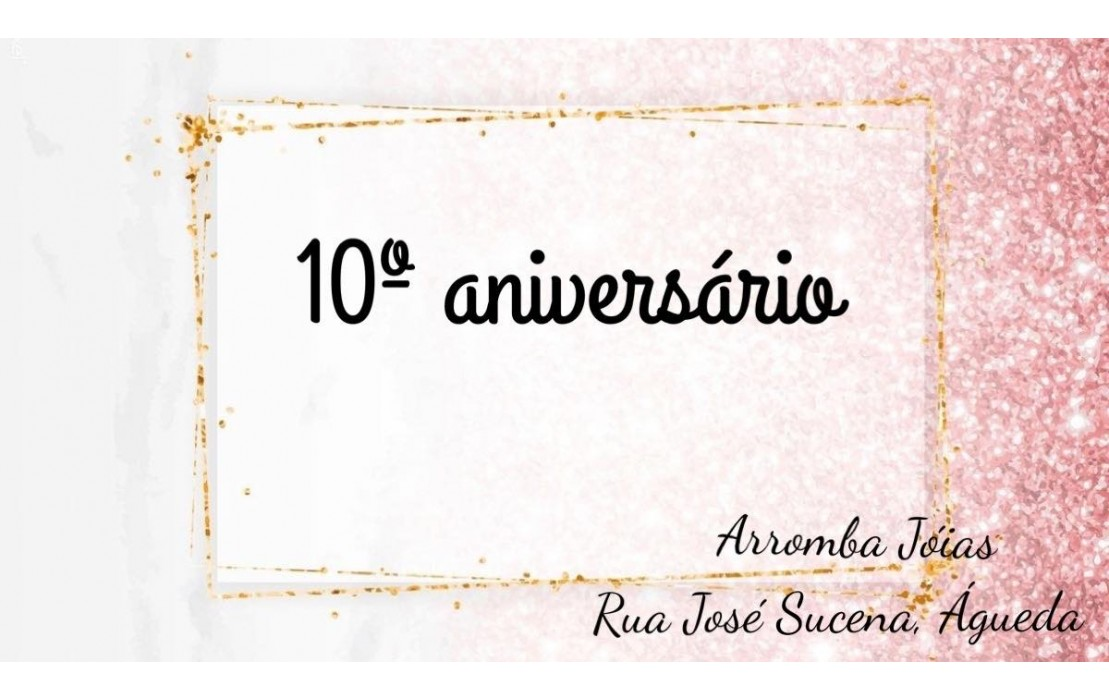 Aniversário 10 Anos